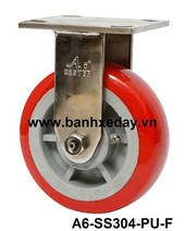 banh-xe-cong-nghiep-pu-do-150-cang-inox-304-co-dinh-a6-ss304-pu-f