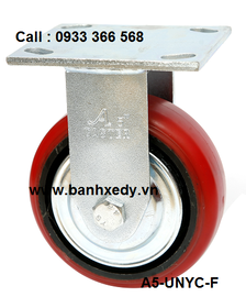 banh-xe-day-cong-nghiep-pu-nylon-1255-cang-co-dinh-han-quoc
